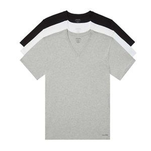 Cavin Klein 3-Pack Classic Fit V-Neck T-Shirts / M
